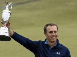 When Jordan Spieth won the British Open his betting value dropped because of his success. (Image: USA Today)
