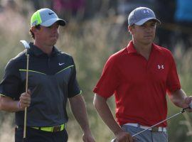 Rory McIlroy and Jordan Spieth enter the PGA Championship, which begins Thursday, as the favorites to win. (Image: Associated Press)