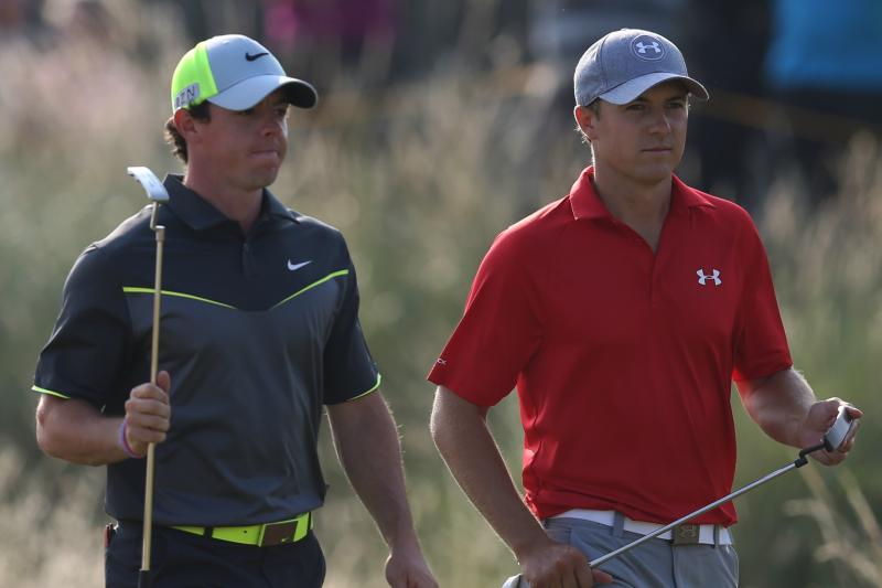 PGA Championship Two Golfer Race Between Rory McIlroy, Jordan Spieth