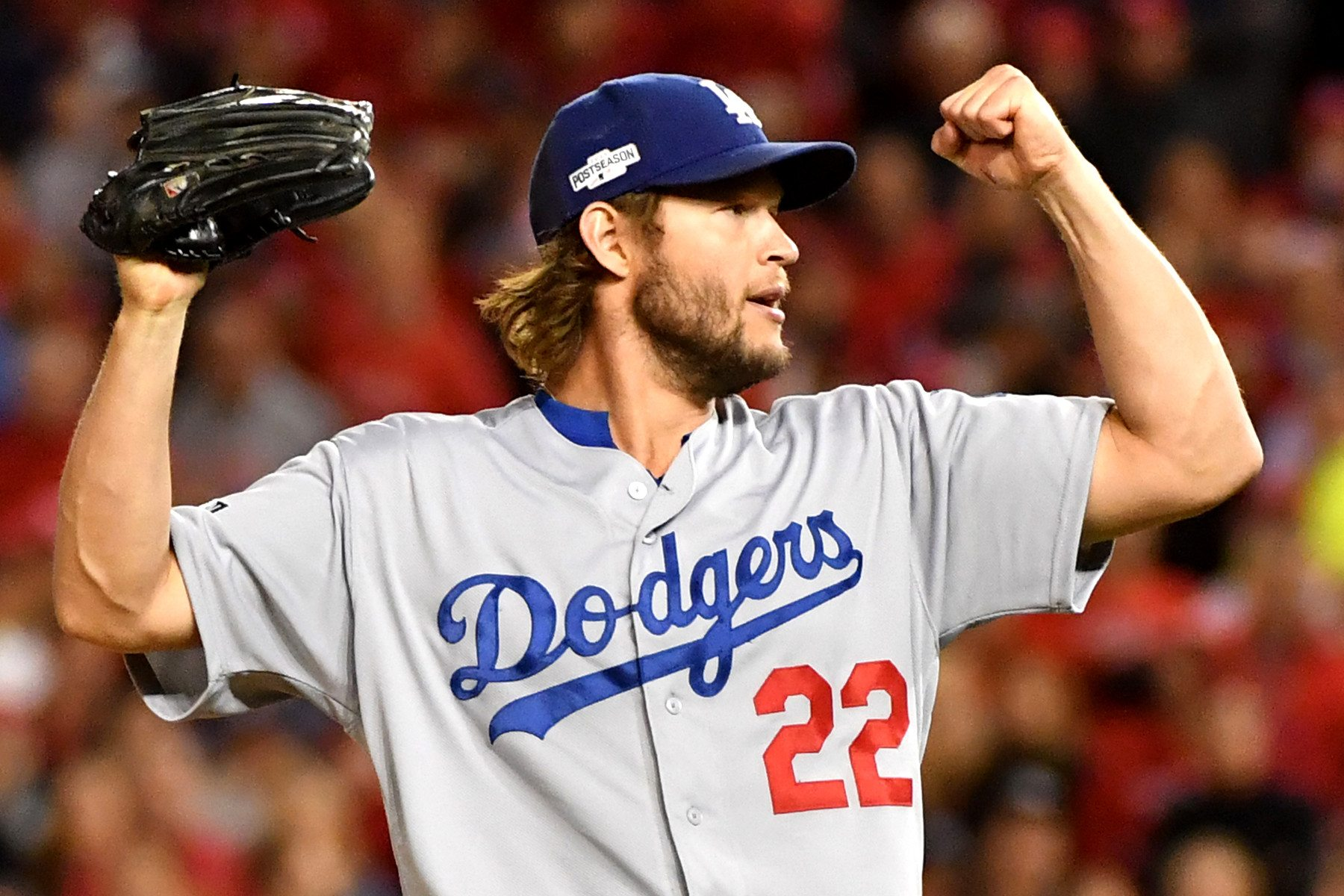 Los Angeles Dodger's ace pitcher Clayton Kershaw will have to remain hot if his team has any chance to win the World Series. (Image: UPI)