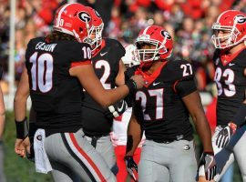 Georgia placed No. 1 in the first College Football Playoff Rankings. (Image: USA Today Sports)