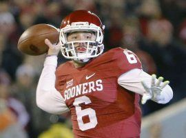 Oklahoma quarterback, and Heisman Trophy candidate, Baker Mayfield has led the high-power Sooners offense into the top four of the college playoff rankings. (Image: AP)