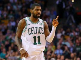 Newly acquired Boston Celtic Kyrie Irving is as good as expected and is leading his new team to the best record in the Eastern Conference. (Image: Getty Images)