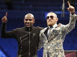 Floyd Mayweather, left, defeated Conor McGregor on their Aug. 26 fight at T-Mobile Arena in Las Vegas and several seven-figure bets were placed on the champion. (Image: AP)