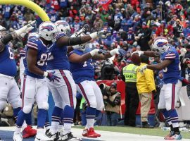 The Buffalo Bills are celebrating their first playoff appearance in 17 years, though they are more than a touchdown underdog to defeat Jacksonville. (Image: Getty Images)