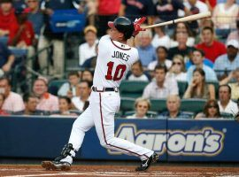 Chipper Jones was a mainstay of the Atlanta Braves throughout his career, and easily earned induction into the Baseball Hall of Fame. (Image: Kevin C. Cox/Getty)