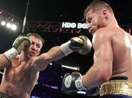 Gennady Golovkin, left, will take on Canelo Alvarez in a rematch May 5 at a location to be determined. The first fight on Sept. 16 ended in a controversial draw. (Image: Getty)