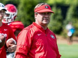 Georgia Coach Kirby Smart is locked in a battle with Ohio State to land the best recruits and the two schools so far have the best recruiting classes with two weeks remaining until letter of intent day. (Image: University of Georgia)
