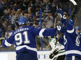 The Tampa Bay Lightning are the midseason favorites to win the Stanley Cup, but plenty of contenders are right behind them. (Image: Reinhold Matay/USA TODAY Sports)