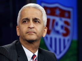 Former U.S. Soccer president Sunil Gulati is spearheading the North American bid for the 2026 World Cup. (Image: Associated Press)