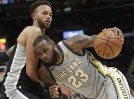 LeBron James feels that NBA referees are protecting shooters, but not calling enough fouls committed against players driving to the basket. (Image: AP/Tony Dejak)
