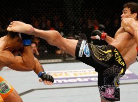 Lyoto Machida will try to bounce back from two knockout losses in front of a home crowd in Belem, Brazil at UFC Fight Night 125. (Image: Getty)