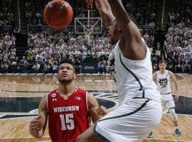Michigan State is hoping it is a slam dunk choice for a No. 1 seed in the NCAA Tournament after it clinched the Big 10 Title. (Image: AP)