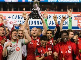 Toronto FC is looking to repeat as MLS Cup champions, and oddsmakers say they are the favorite to win the title again. (Image: Canada Soccer/Martin Bazyl)