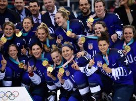 The US Women's hockey team ended a 20-year drought and won the gold medal Thursday night at the Winter Olympics. (Image: Getty)