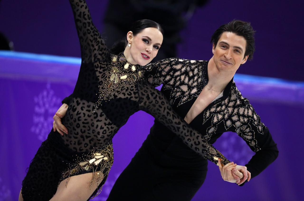 Canada and France Battle for Gold in Olympic Ice Dancing ...