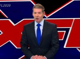 Vince McMahon announced the return of the XFL in 2020, promising a league that's fast paced and family-friendly. (Image: YouTube/ESPN)