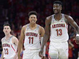 The University of Arizona basketball team is one of the few bright spots out west where the Pac 12 is definitely enduring a down year. (Image: USAToday Sports)