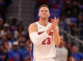 Blake Griffin is adjusting to life as a Detroit Piston and the team has won all three games since his arrival. (Image: Getty)