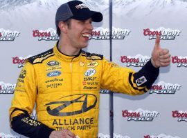 Brad Keselowski is an 8-1 favorite at the Daytona 500, which is on Feb. 18 at the famed speedway. (Image: AP)