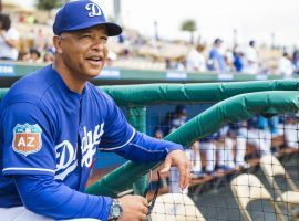 Sports books have the Los Angeles Dodgers win total at either 96.5 or 97 and Manager Dave Roberts believes he has the best team. (Image: Getty)