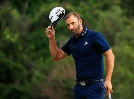 Dustin Johnson has won a tournament this year and is the No. 1 ranked golfer, but oddsmakers only recently made him the favorite to win the Masters. (Image: Getty)