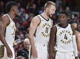 The Indiana Pacers are the only team to reach its win total set by Las Vegas before the All Star break. (Image: Getty)
