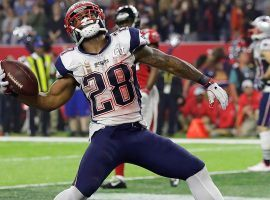 New England running back James White came close to being named Super Bowl MVP last year but finished second to quarterback Tom Brady. (Image: Sports Illustrated)