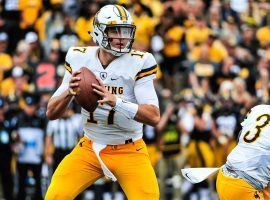 Former Wyoming quarterback Josh Allen is one of several quarterbacks that have been invited to the NFL Combine and will be undergoing several physical and mental tests to try and impress NFL teams that may draft him. (Image: USA Today Sports)