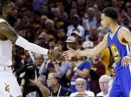 LeBron James and Stephen Curry will once again be adversaries, not at the NBA Finals but at the NBA All Star Game. (Image: Getty)