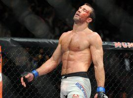 Luke Rockhold is facing Yoel Romero in the main event of UFC 221 in Perth, Australia Saturday. (Image: USA Today Sports)