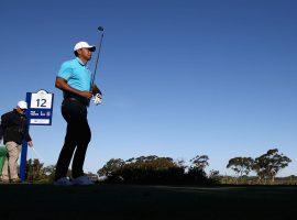 Tiger Woods had success at the Farmers Open at Torrey Pines two weeks ago, but is playing in the Genesis Open at Riviera Country Club, a course that has always given him problems. (Image: Getty)