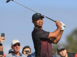 After a strong showing at the Farmers Insurance Open at Torrey Pines Tiger Woods is getting attention as a contender for the Masters. (Image: Getty)