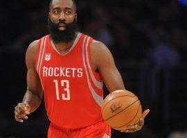 Led by MVP candidate James Harden, the Houston Rockets continue to roll, having now won 17 straight games. (Image: Gary A. Vasquez/USA TODAY Sports)