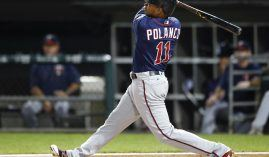 Twins shortstop Jorge Polanco will sit out the first 80 games of the 2018 season while service a suspension for testing positive for Stanozolol. (Image: AP/Kamil Krzaczynski)