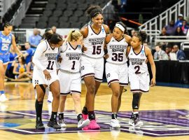 Mississippi State is hoping that they can follow up their Final Four appearance last year with a national championship in Columbus this weekend. (Image: Mississippi State Athletics)