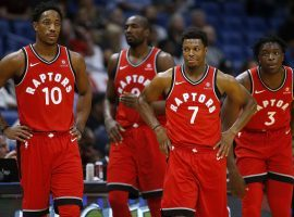 The Toronto Raptors are leading the Eastern Conference and want to reach the NBA Finals for the first time in team history. (Image: Getty)