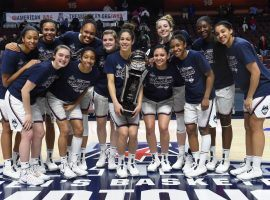 The undefeated UConn Huskies captured the AAC Tournament championship last week, and are now hoping to win their fifth national title in six years. (Image: Cloe Poisson)