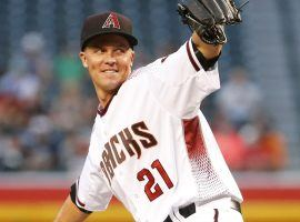 Zack Greinke is suffering from tightness in his right groin, which could make him unavailable for the Diamondbacks on Opening Day. (Image: Michael Chow/azcentral sports)