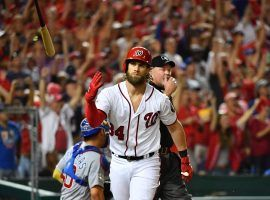 Bryce Harper is a free agent after the 2018 season and the Washington Nationals are going to have to spend big money if they hope to keep the 25-year-old all star. (Image: USA Today Sports)