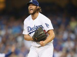 Los Angeles Dodger Clayton Kershaw is the Las Vegas sportsbook pick to win the most games this season, but is more focused on getting back to the World Series. (Image: Getty)