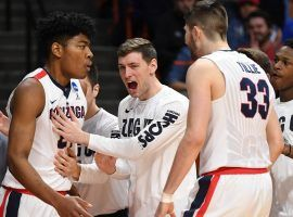 Gonzaga was a 12.5-point favorite, but nearly was upset by UNC Greensboro. (Image: Otto Kitsinger/AP)