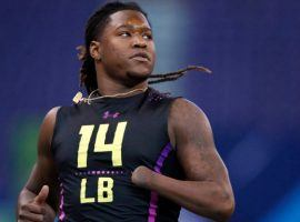 Despite missing his left hand, University of Central Florida linebacker Shaquem Griffin wowed NFL personnel at the NFL Scouting Combine last week and improved his draft status. (Image: Getty)