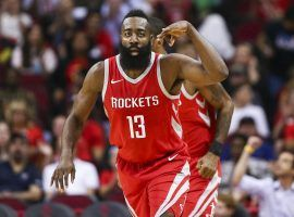 Houston Rocket's guard James Harden is a heavy favorite to win the NBA's MVP award. (Image: USA Today Sports)