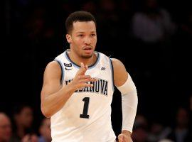 Villanova guard Jaylen Brunson is hoping to lead the Wildcats to their second NCAA Tournament Championship since 2016. (Image: Getty)