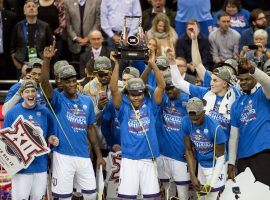 Kansas won the Big 12 Championship and is one of four No. 1 seeds in the NCAA Tournament. (Image: USA Today Sports)
