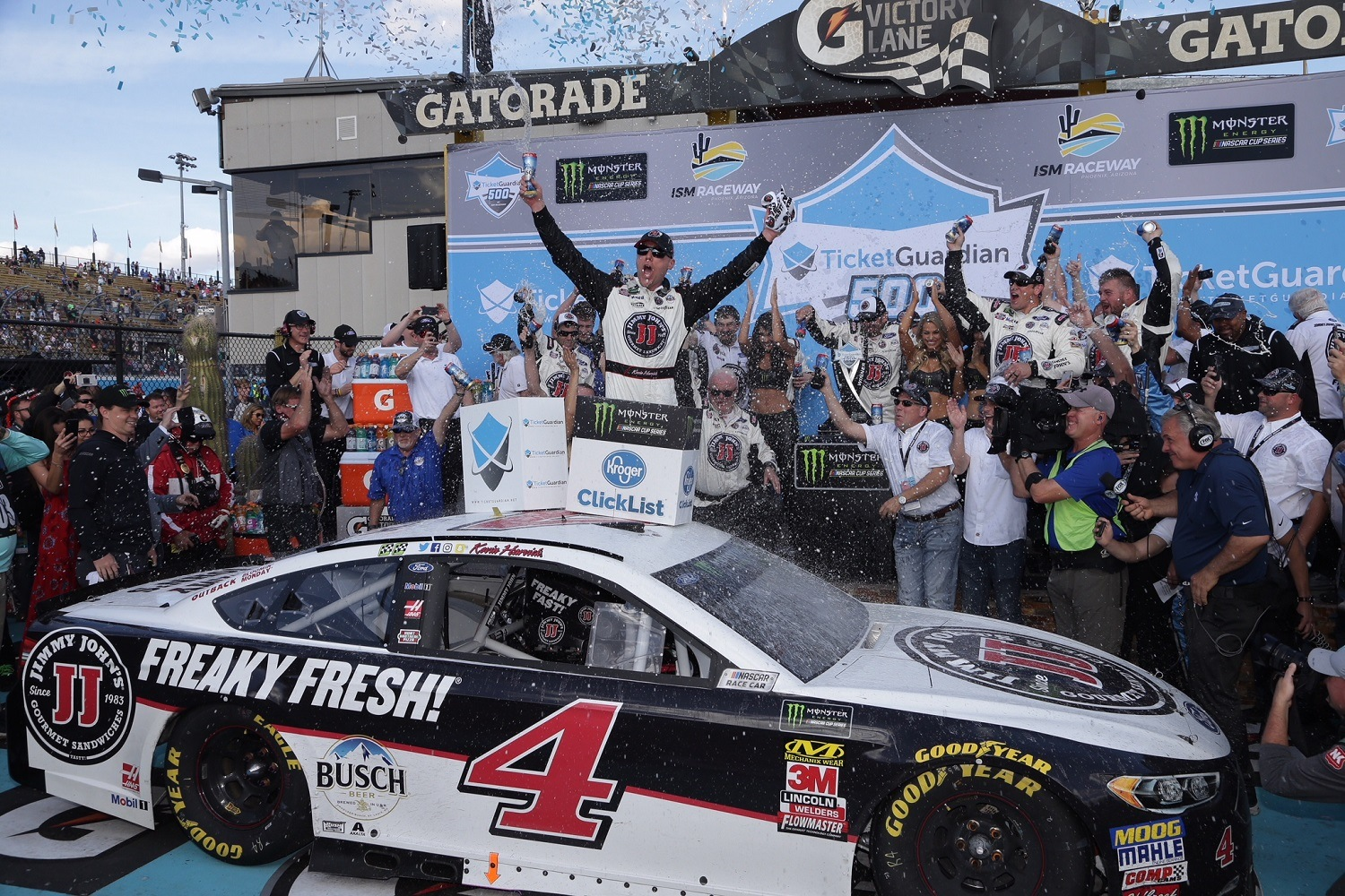 Can Anyone Stop Kevin Harvick? Oddsmakers Don't Think So