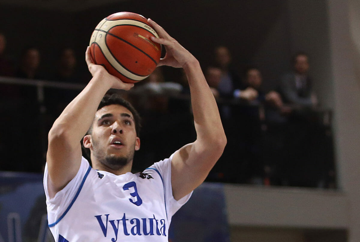 c558781206b Oddsmakers Don t Expect LiAngelo Ball to Get Picked in NBA Draft