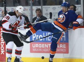 The New Jersey Devils and New York Islanders are both competing for a playoff spot. (Image: Michael Reaves/Getty Images)