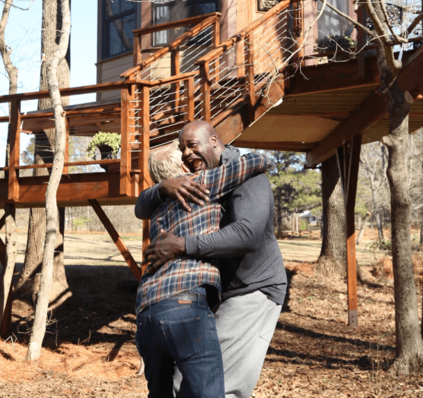 Step Inside Shaquille O'Neal's Baller New Treehouse Poker